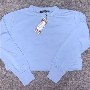 Cropped Blue Sweartshirt